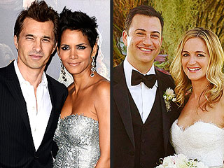 A Weekend of Wedded Bliss: See Who Tied the Knot | Halle Berry, Jimmy Kimmel, Olivier Martinez