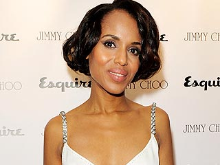Pregnant Kerry Washington Is 'Upbeat' During Night Out with Scandal Costars