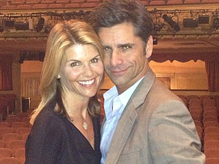 '90s Rewind! Uncle Jesse and Aunt Becky Reunite for a Night Out in N.Y.C.