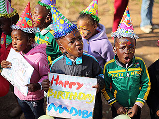 Reason to Celebrate! Nelson Mandela Turns 95 (Photos)