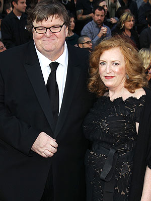 Michael Moore Divorcing Producer Wife Kathleen Glynn