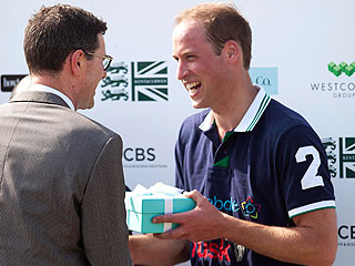 Prince William Showing No Sign of Nerves Just Before Baby's Birth | Prince William