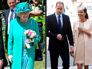 Queen Elizabeth Hopes a Nervous Kate Will Give Birth Soon | Kate Middleton, Prince William, Queen Elizabeth II