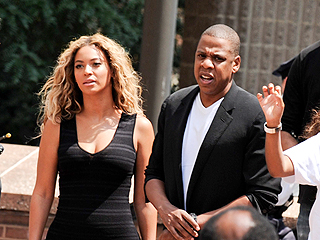 PHOTO: Beyoncé and Jay-Z Attend Trayvon Martin Rally in N.Y.C. | Beyonce Knowles, Jay-Z