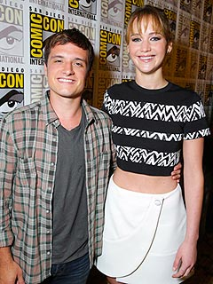 Josh Hutcherson: Jennifer Lawrence Is a 'Great Kisser' | Jennifer Lawrence, Josh Hutcherson