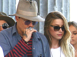 Seeing Double? Johnny Depp & Amber Heard Dress Alike in Berlin | Amber Heard, Johnny Depp