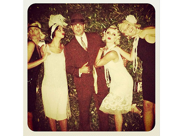 Julianne Hough Celebrates Turning 25 with a Costume Party| Birthdays, Great Gatsby, Julianne Hough, Maria Menounos