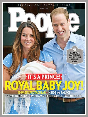 Prince George Expected to Inspire Thousands of Other Baby Georges| The British Royals, The Royals, Royal Baby, Kate Middleton, Prince George, Prince William