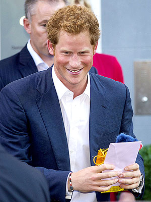 Prince Harry: I'll Keep Prince George 'Out of Harm's Way'