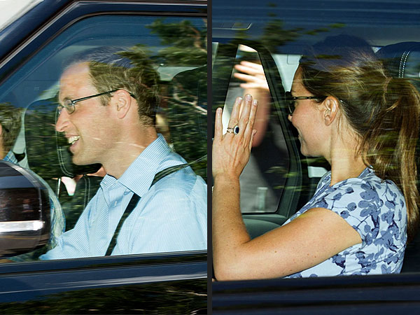 Will, Kate & Baby Cambridge Leave Kensington Palace for the Middletons'| Royal Baby, Carole Middleton, Kate Middleton, Michael Middleton, Prince George, Prince William