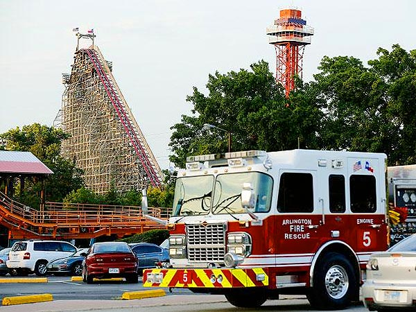 Six Flags: Woman Dies While Riding Park's Texas Giant Roller Coaster