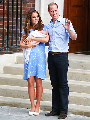 The Prince of Cambridge: Here's the First Look!| Babies, London, The British Royals, The Royals, Royal Baby, Kate Middleton, Prince William
