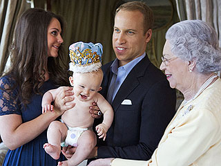 Royal Baby's First (Sadly Fake) Photoshoot!