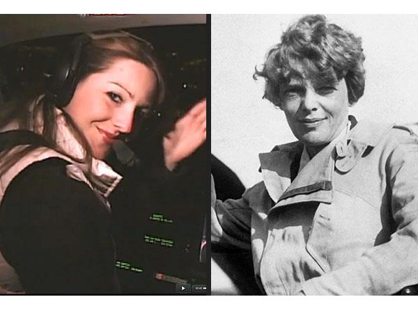 Amelia Earhart's Distant Relative to Recreate Her Historic Flight