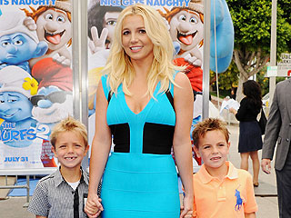 It's a Family Affair! Britney Spears Hits the Red Carpet with Sons