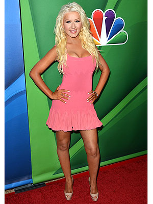 The Voice: Christina Aguilera Shows Off Slimmer Figure