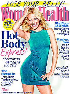 Elizabeth Banks Women's Health Sleep Deprivation