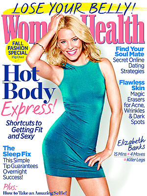 Elizabeth Banks On Staying Fit: Portion Control Is a 'Real Problem'| Diet & Fitness, Fitness & Health Fads, Health, Nutrition, The Hunger Games: Catching Fire, The Hunger Games, Elizabeth Banks