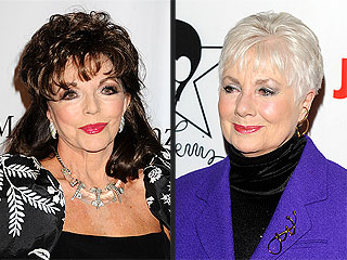 Joan Collins Disputes Racy Passage in Shirley Jones's Autobiography | Jackie Collins, Shirley Jones