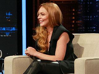 Of Course Lindsay Lohan Makes Rehab Jokes on Chelsea Lately