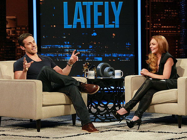 Lindsay Lohan Guest Hosts Chelsea Lately