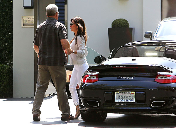 Simon Cowell Spends Day with Ex Mezghan Hussainy| The X Factor, Lauren Silverman, Simon Cowell