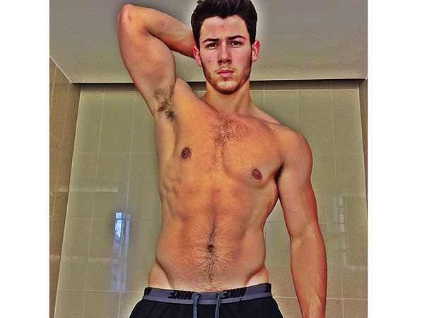 Nick Jonas Shares a Very Sexy Selfie