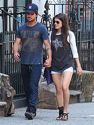 Taylor Lautner and Marie Avgeropoulos Dating?