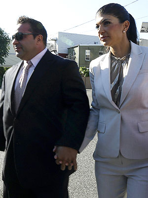 Teresa and Joe Giudice Appear in Court to