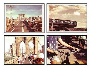 PHOTO: Beyoncé Bikes to Brooklyn