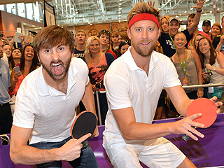 See Lady Antebellum and Little Big Town Duke It Out in Epic Ping-Pong Match