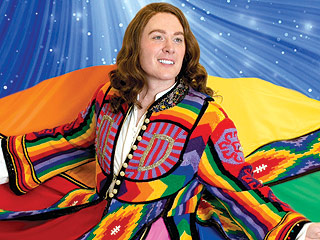 PHOTO: Clay Aiken Sports Long Hair in Vibrant Technicolor Dreamcoat