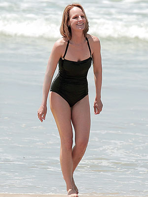 Helen Hunt Wows in Bathing Suit at 50