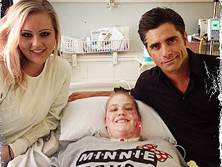 John Stamos Promises Teen Amputee a Date to Disneyland