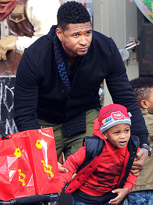 Usher Thanks Men Who Saved His Son's Life