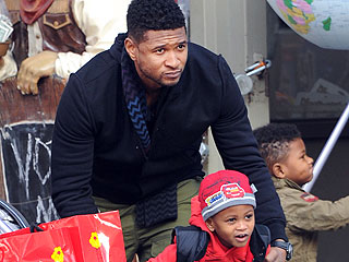 Usher's 5-Year-Old Son Hospitalized After Pool Accident