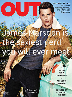 James Marsden Knows He's Hot – and Nerdy