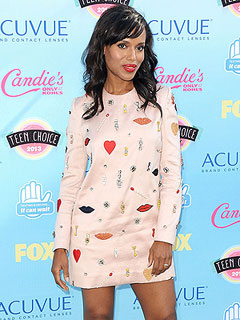 Kerry Washington Pregnant Expecting First Child Nnamdi Asomugha