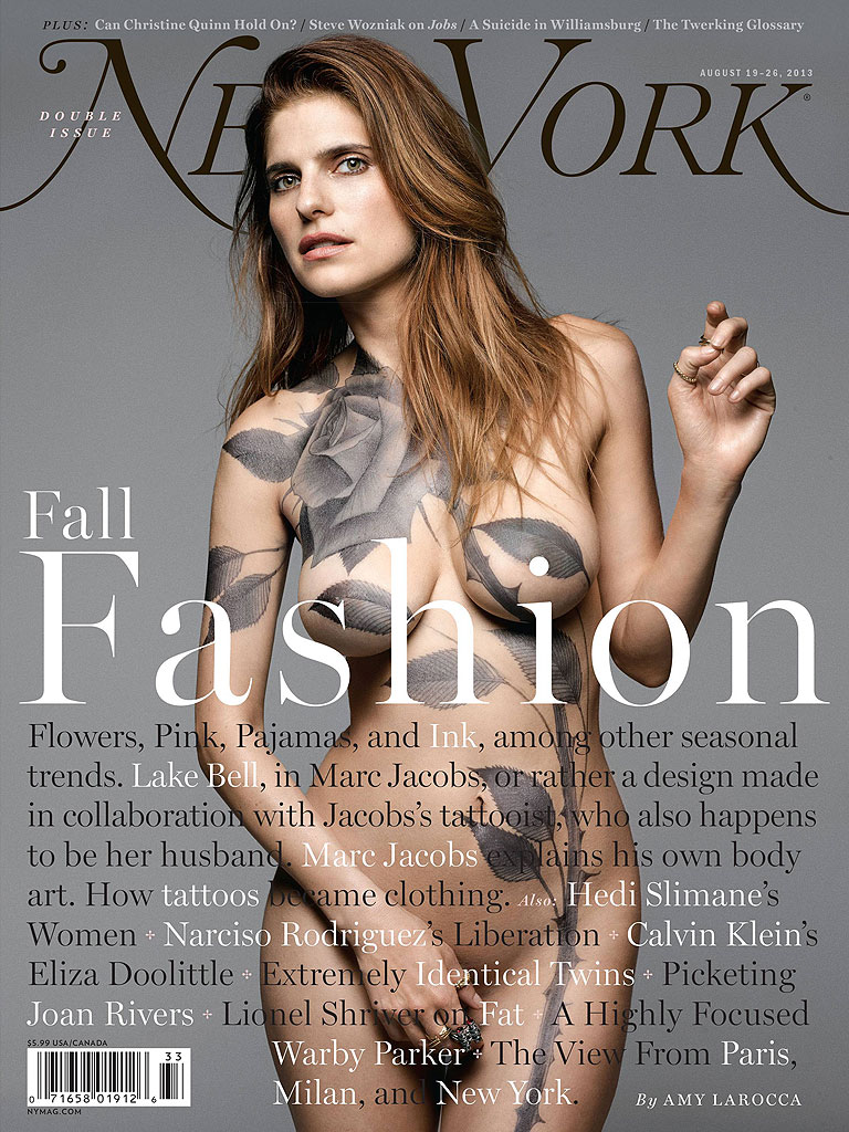 Lake Bell Bares All