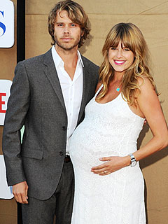 Eric Christian Olsen with beautiful, sexy, cute, Wife Sarah Wright