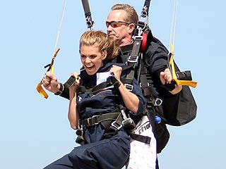 PHOTO: It's a Bird, It's a Plane, It's AnnaLynne McCord?!