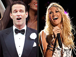 Guess Who's playing Capt. Von Trapp to Carrie Underwood's Maria in The Sound of Music | Carrie Underwood, Stephen Moyer