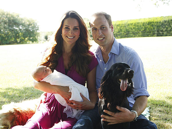 Prince William and Kate Release Official Family Photos