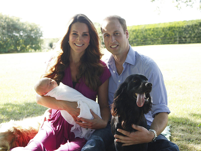 Prince George & Parents Photos Delight Readers