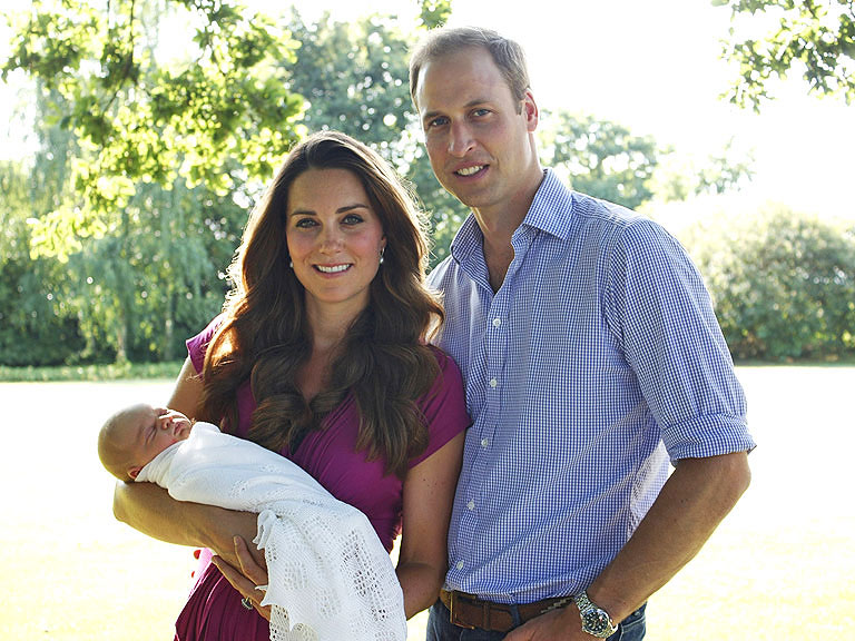 Prince William Kate Middleton Official Family Photos