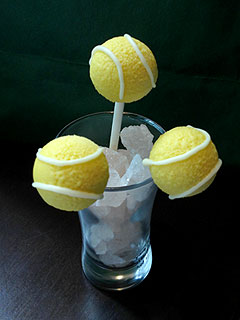 Try This: Tennis Ball Cake Pops to Celebrate the U.S. Open
