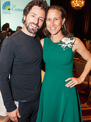 Sergey Brin, Top Google Executive, Splits From Wife