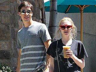 Summer Lovin': Amanda Seyfried & Justin Long Take Finn for a Stroll | Amanda Seyfried, Justin Long