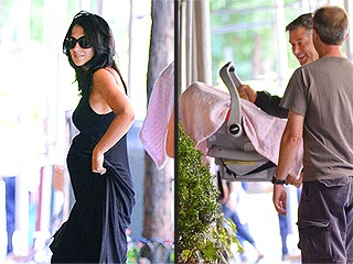 Photo: Alec and Hilaria Bring Baby Carmen Home | Alec Baldwin