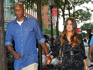 Khloé & Lamar Look 'So Happy Together' at Kanye West Show | Khloe Kardashian, Lamar Odom